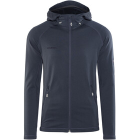 Mammut Runbold ML Hooded Jacket Men marine dark melange